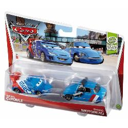 CARS-COCHES PERSONAJES PACK 2COCHES
