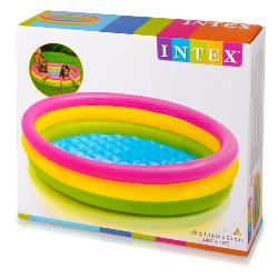 PISCINA 114CM 3TUBOS SUNSET -COLORBABY-