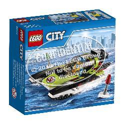 LEGO  CITY-LANCHA  RAPIDA