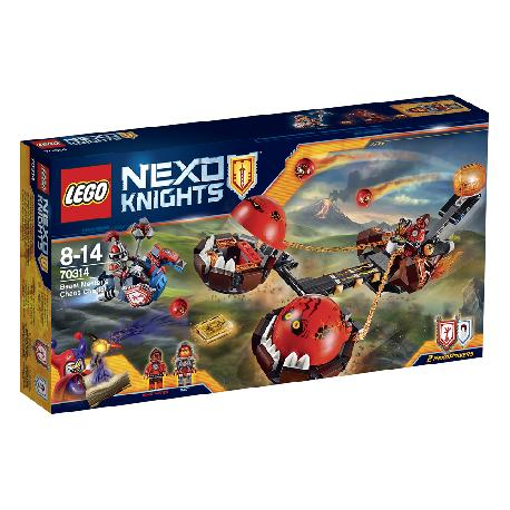 LEGO NEXO KNIGHTS-CARRO CAOS DEL MAESTRO
