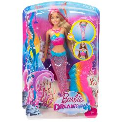 BARBIE SIRENAS LUCES DE ARCOIRIS