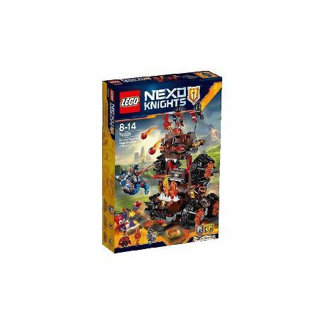 LEGO NEXO KNIGHTS-MAQUINA ASEDIO MAGMAR