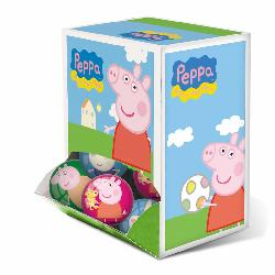 PELOTA PLAST. PEPPA PIG MINI.60MM