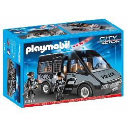 PLAYMOBIL  FURGON  POLICIA...