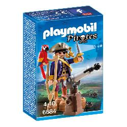 PLAYMOBIL CAPITAN PIRATA