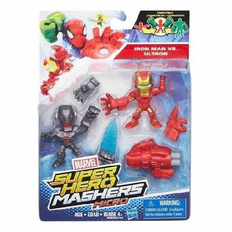 MASHERS SUPER HEROES FIGURAS PACK 2U.