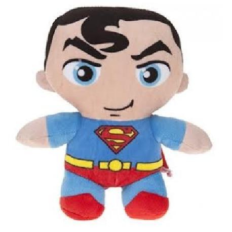BATMAN-SUPERMAN 20CM PELUCHE SURT.