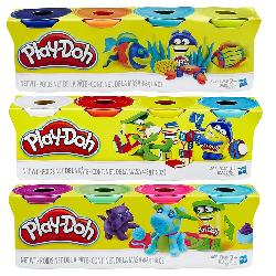 PLAYDOH-4 BOTES EN PACK
