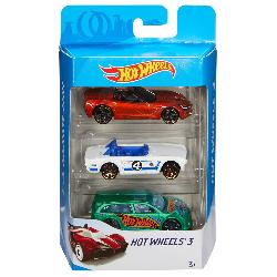 HOT  WHEELS-PACK  3  VEHICULOS