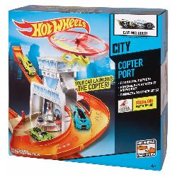 HOT WHEELS-CIRCUITO TALLER+TUNEL LAVADO