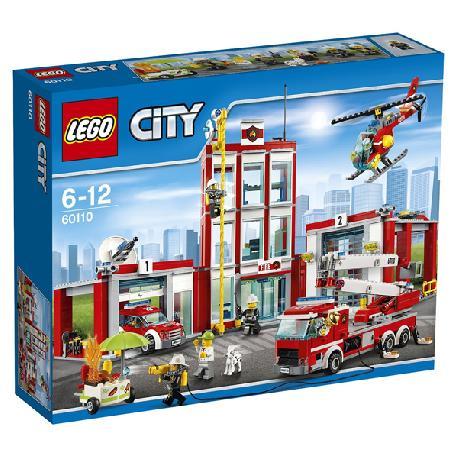 LEGO CITY-ESTACION BOMBEROS