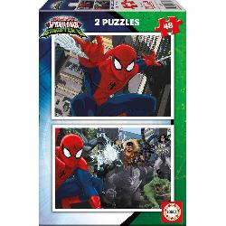 PUZZ  2X48  SPIDERMAN  VS  SINISTER  6