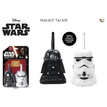 WALKIE TALKIE STAR WARS CARAS