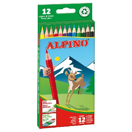 LAPICES COLORES ALPINO 12 COLORES