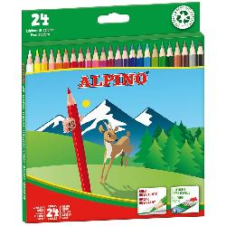 LAPICES COLORES ALPINO 24PCS