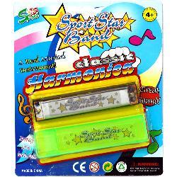 ARMONICA E/BLISTER FUNDA PLASTICO -PLAST