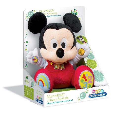 MICKEY BABY PELUCHE EDUCATIVO -CLEM-