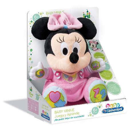 MINNIE BABY PELUCHE EDUCATIVO -CLEM-