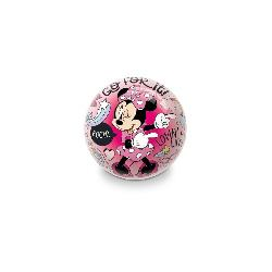 PELOTA PLAST. MINNIE PEQ.150MM