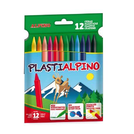 PLASTIDACS ALPINO 12 PCS