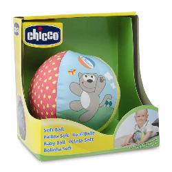 PELOTA SOFT TELA ANIMALES -CHICCO-