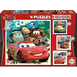 PUZZ PROGRES CARS 12+16+20+25