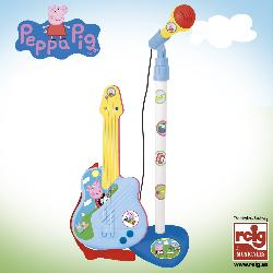 GUITARRA ELECTR.+MICRO PEPPA PIG -REIG-