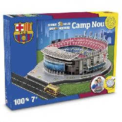 PUZZLE 3D 100PCS ESTADIO FC.BARCELONA