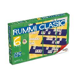 RUMMI  CLASSIC  6  JUG.FICHA  PEQ.-CAYRO-