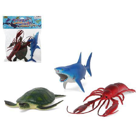 ANIMALES OCEANO 38X30CM E/BOLSA