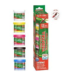 TEMPERA ALPINO 5PCS C/PINCEL