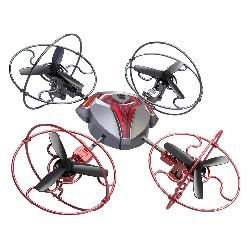 HELICOPTERO R/C SPACE COMET DRONE 4CAN.
