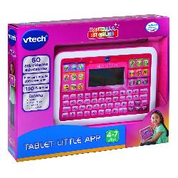 TABLET LITTLE APP PANTALLA COLOR ROSA