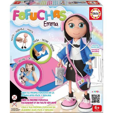 FOFUCHA EMMA MUÑECA CREATIVA -EDUCA-