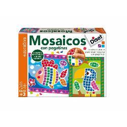 MOSAICO  CON  PEGATINAS  -DISET-