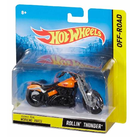 HOT WHEELS-MOTOS STREET POWER 1:18 SURT.