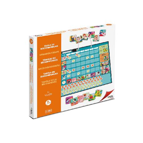 TABLA RECOMPENSAS JUEGO ED.KIDS -CAYRO-