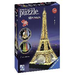 PUZZLE 3D 216PCS TORRE EIFFEL NIGHT LUZ
