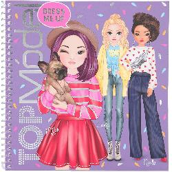 CUADERNO STICKER TOP MODEL DRESS ME UP