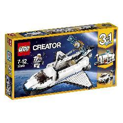 LEGO  CREATOR-LANZADERA  ESPACIAL