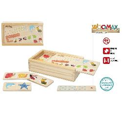 DOMINO MADERA ANIMALES 28PCS