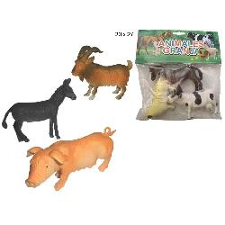 ANIMALES  GRANJA  3PCS...