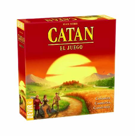 CATAN LOS COLONOS -DEVIR-