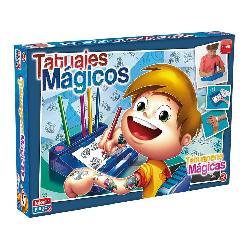 TATUAJES MAGICOS AZUL -FALOMIR-