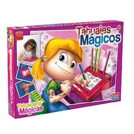 TATUAJES MAGICOS ROSA -FALOMIR-