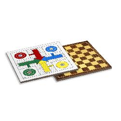 TABLERO PARCHIS/DAMAS 4 JUG.-CAYRO-