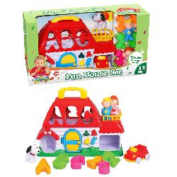 CASA C/GARAGE DIVERTIDA EDUC. -NAVY-