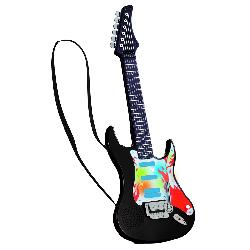 GUITARRA ROCK C/SONIDO Y LUCES COLOR