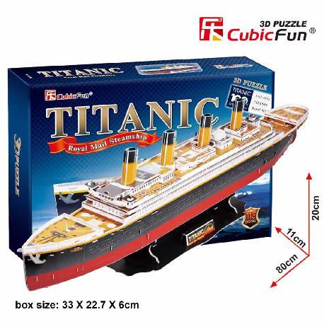 PUZZLE 3D TITANIC 113PCS