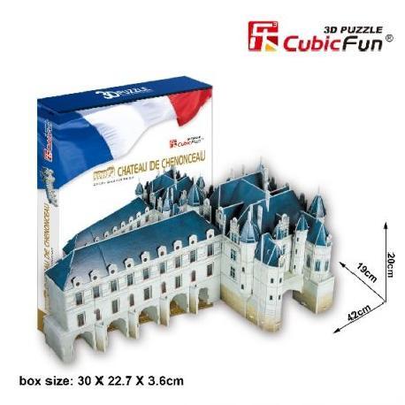 PUZZLE 3D CHATEAU CHENONCEAU 116PCS